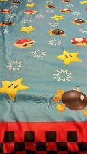 Nintendo Super Mario Brothers Twin Sheet Flat Mario kart Fabric