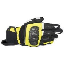 *NEW* Alpinestars SP-X Air Carbon Glove Black/Yellow Fluo - SIZE 3X-LARGE/XXXL
