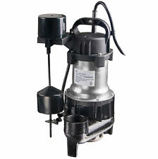 Lanchez Q450B82 Submersible Sewage Sump Pump With Float Switch for Dirty Water