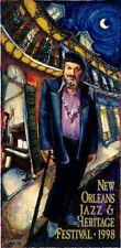 1998 New Orleans Jazz Festival Poster Dr John Signed edition
