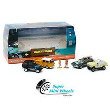 Greenlight 1:64  Multi-Car Diorama - Waikiki Beach Summer Bash #58050