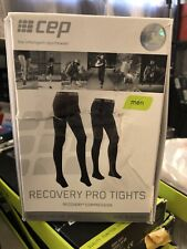 Cep Mens Recovery Pro Tights Size 3 Black