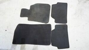 BMW 1 SERIES E82 E87 E88 GENUINE OEM FLOOR MATS BLACK