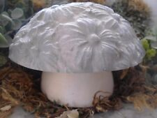 Gostatue MOLD plaster concrete plastic 2 piece flower mushroom mold