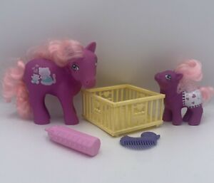 My Little Pony G1 Mommy And Baby BEACHY KEEN Hasbro Mail Order MLP Vintage Rare