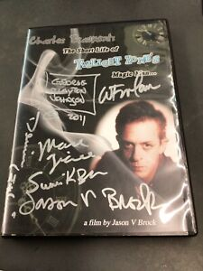 Charles Beaumont The Short Life of Twilight Zone's Magic Man DVD Signed 6x