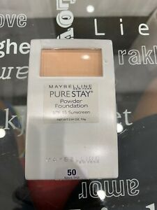 Maybelline Pure Stay Powder Foundation 50 Natural Beige. SEALED
