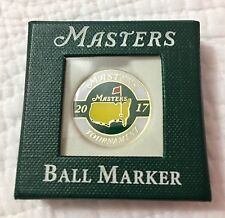 2017 MASTERS OFFICIAL BALL MARKER From Augusta National - Flag pin 2018
