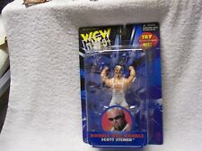 TMW7  Big Poppa Pump Scott Steiner  signed WCW Action Figure w/COA  C 8/10