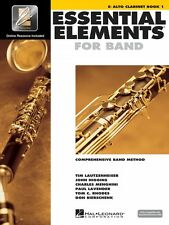 Essential Elements for Band Eb Alto Clarinet Book 1 with EEi Band 000862570