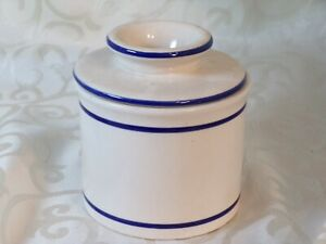 French Porcelain Butter Keeper - Keeps Butter Spreadable