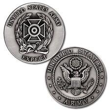 U.S. Army Expert Badge - Nickel Challenge Coin