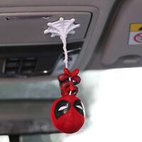 Cute Spider-Man Upside Down Spiderman Bobble Head Figure Car Decor Accessories