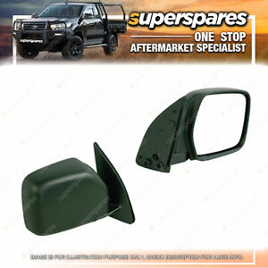 Superspares Right Door Mirror Manual for Toyota Hiace SBV 10/1995-11/2003