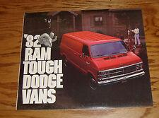 Original 1982 Dodge Van Sales Brochure 82 Ram B150 B250 B350