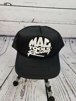 Vtg Mac Tools Racing Trucker Snapback Mesh Foam Front Hat Cap Never Worn.