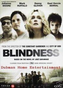 BLINDNESS - Danny Glover , Julianne Moore new dvd