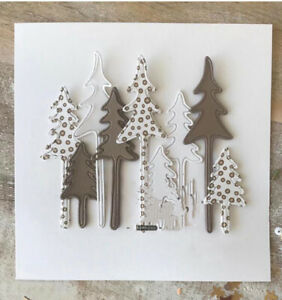 Tree Metal Christmas Cutting Dies Stencils Scrapbooking Embossing Die Embossing