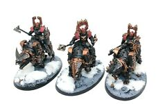 Warhammer Warriors Of Chaos Mighty Skullcrushers Well Painted - JYS47