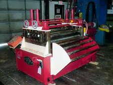 50 X 090 Proma Straightener 020 090 Thickness Capacity 4 Roll Diameter 1