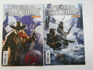 The Lone Ranger: Snake of Iron  #1-2, (Dynamite), 9.0 VF/NM