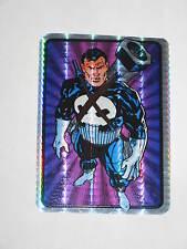 1990'S Marvel Universe Masterpieces Punisher Vending Machine Sticker Rare Prism