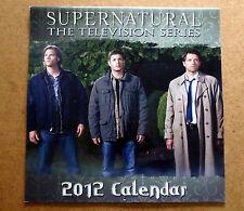 Supernatural Calendar 2012 Cast - Jensen Ackles, Mischa Collins, Jared Padalecki