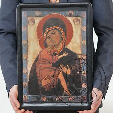 The Mother of God of Tenderness of the White Lake Russian Virgin Mary Icon Gift
