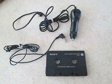 Sony Walkman Connecting Pack Cpa-7 4.5V Car Charger Cassette to Cd Mp3