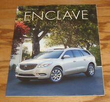 Original 2016 Buick Enclave Deluxe Sales Brochure 16