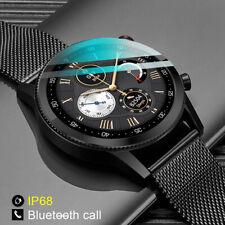 Microwear L19 Reloj inteligente ECG IP68 BT Llamada para Android IOS Sport Fitness Tracker