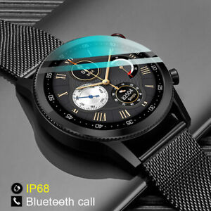 Microwear L19 ECG Smart Watch BT-Call IP68 For Android IOS Sport Fitness Tracker
