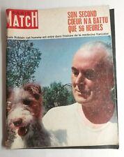 N32 Magazine Paris-Match N°996 11 mai 1968 Clovis roblain, Formule 1 française