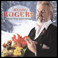 KENNY ROGERS - CHRISTMAS GREETINGS CD Album ~ COUNTRY/POP ~ WHITE XMAS +++ *NEW*