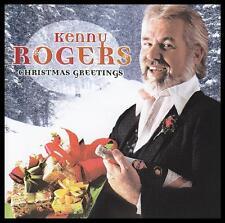 KENNY ROGERS - CHRISTMAS GREETINGS CD Album ~ COUNTRY/POP ~ WHITE XMAS +++ *NEW*