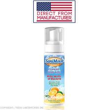 SaniMoist Fast Acting Moisturizing Foaming 7.5 Ounce Anti Microbial Hand Wash