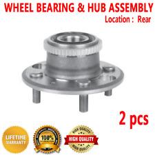 2pcs REAR Wheel Hub and Bearing Assembly for HONDA CIVIC 92-95 DEL SOL 94-97 4WD