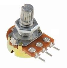 5pcs 1K Ohm Linear Taper Rotary Potentiometer Panel pot B1K 15mm