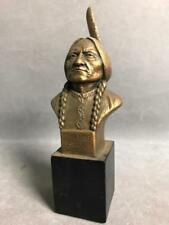 Vintage Sitting bull Sioux Indian chief Bust, Andersen Art Company Lot 189