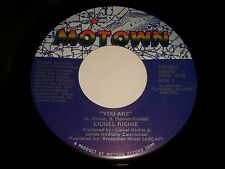 Lionel Richie~You Are / You Mean More To Me~Motown 1657MF~FAST SHIPPING!!!