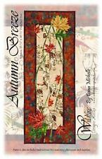 Autumn Breeze Maple Leaves Table Runner Wildfire Designs Alaska Quilt Pattern