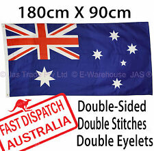 Quality Eyelets Aussie Australia Australian OZ AU Flag National 180x90cm 5.9x3ft