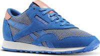 Reebok Classic CL Nylon Breathability Sizes 4.5-5.5 Blue RRP £70 BNIB BD3160
