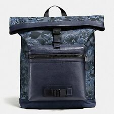 NWT Coach Men's Terrain Pack Explorer Pack Floral Hawaiian Backpack F56663 $495