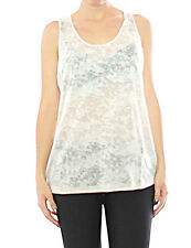 Damen Material Girl Top Tank Shirt Tunika Bluse T-Shirt 706698