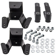 Lowering Drop Kit rear 4'' Hanger Shackle fit Chevy C10 1973-80 81-87 2WD