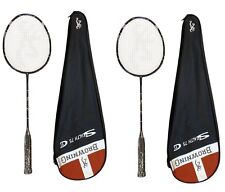 2 x Browning Stealth CTi 75 Carbon Badminton Rackets + 6 Shuttles RRP £440
