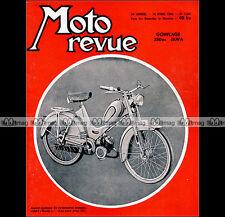 MOTO REVUE N°1285 Cyclo EUROP 49 HOREX 250 RESIDENT JAWA-CZ 350 PARIS-NICE 1956