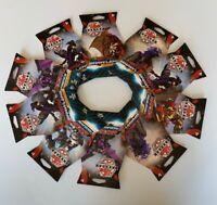 Bakugan Battle Brawlers And Resurgence TCG Booster Packs Set of 10 = 100 Cards