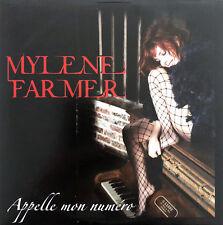Mylène Farmer CD Single Appelle Mon Numéro - France (EX+/M)